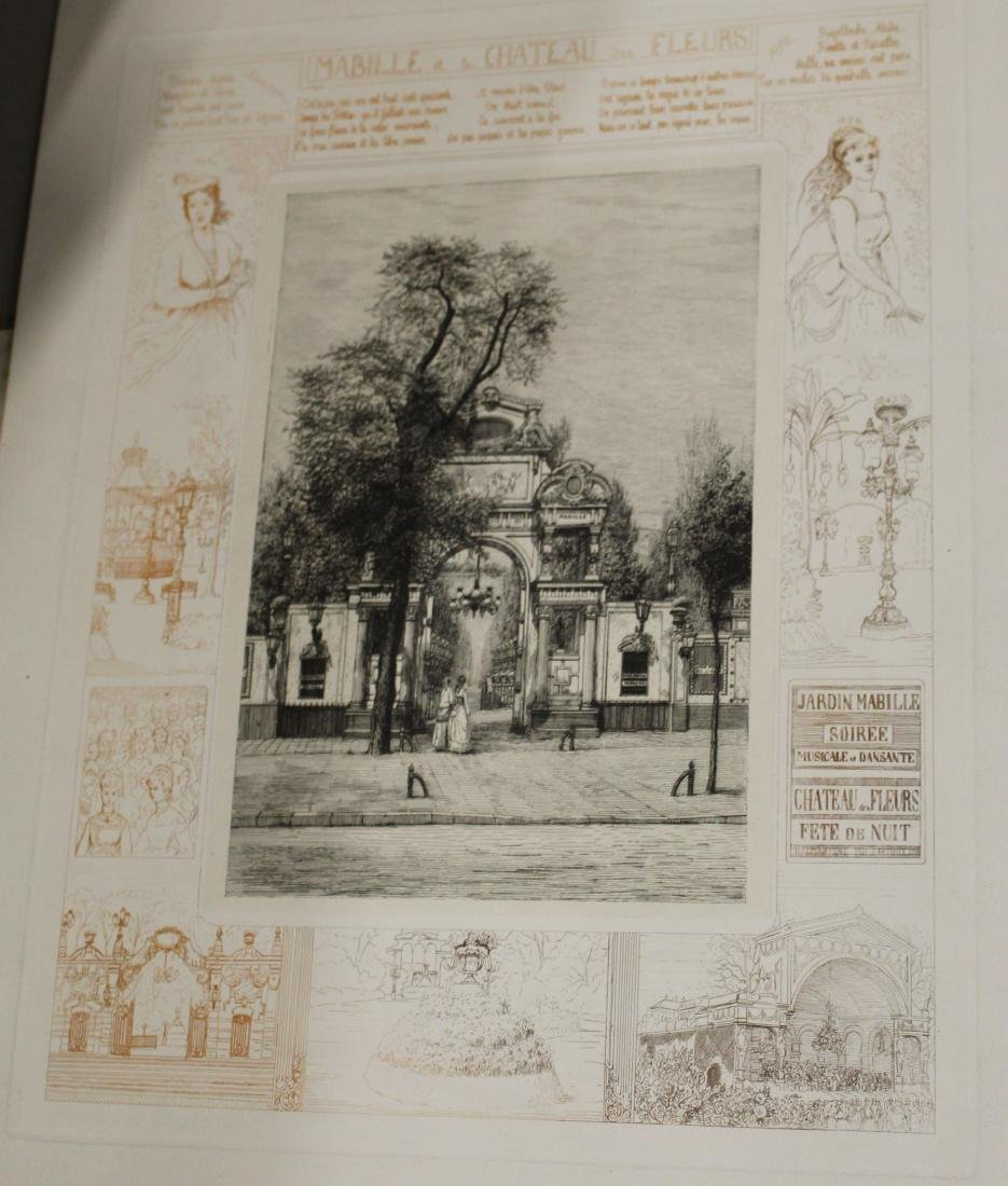 Lot of 19th c Architectural prints - 2