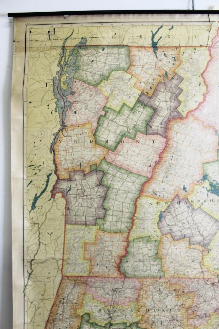 1907 Scarborough's Map of the NE States - 4