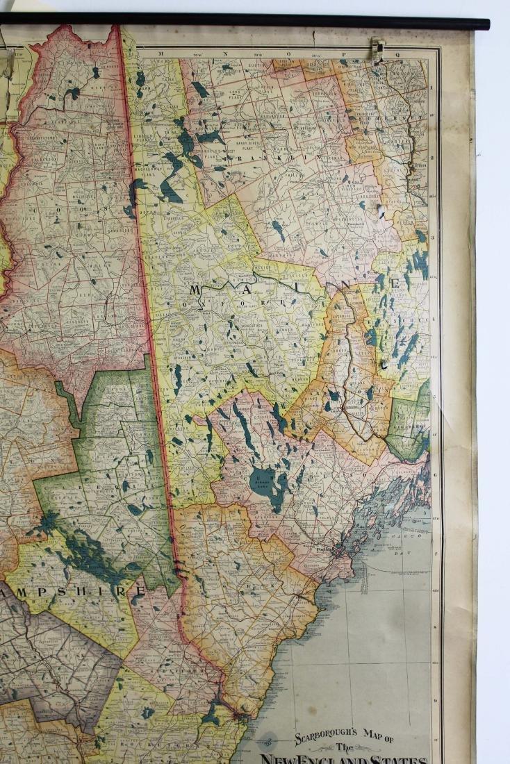 1907 Scarborough's Map of the NE States - 6