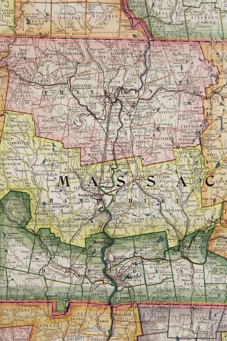 1907 Scarborough's Map of the NE States - 8