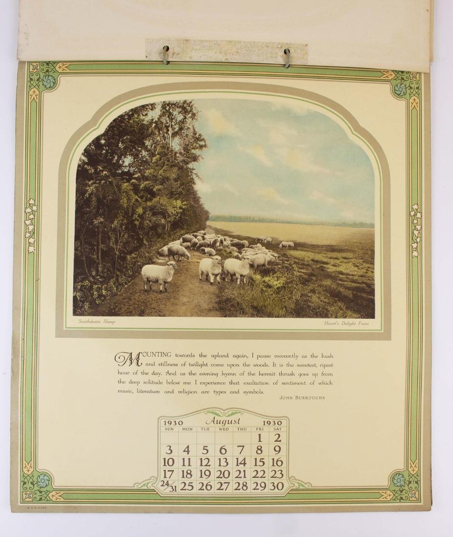 Hearts Delight Farm Chazy, NY calendar with views - 9