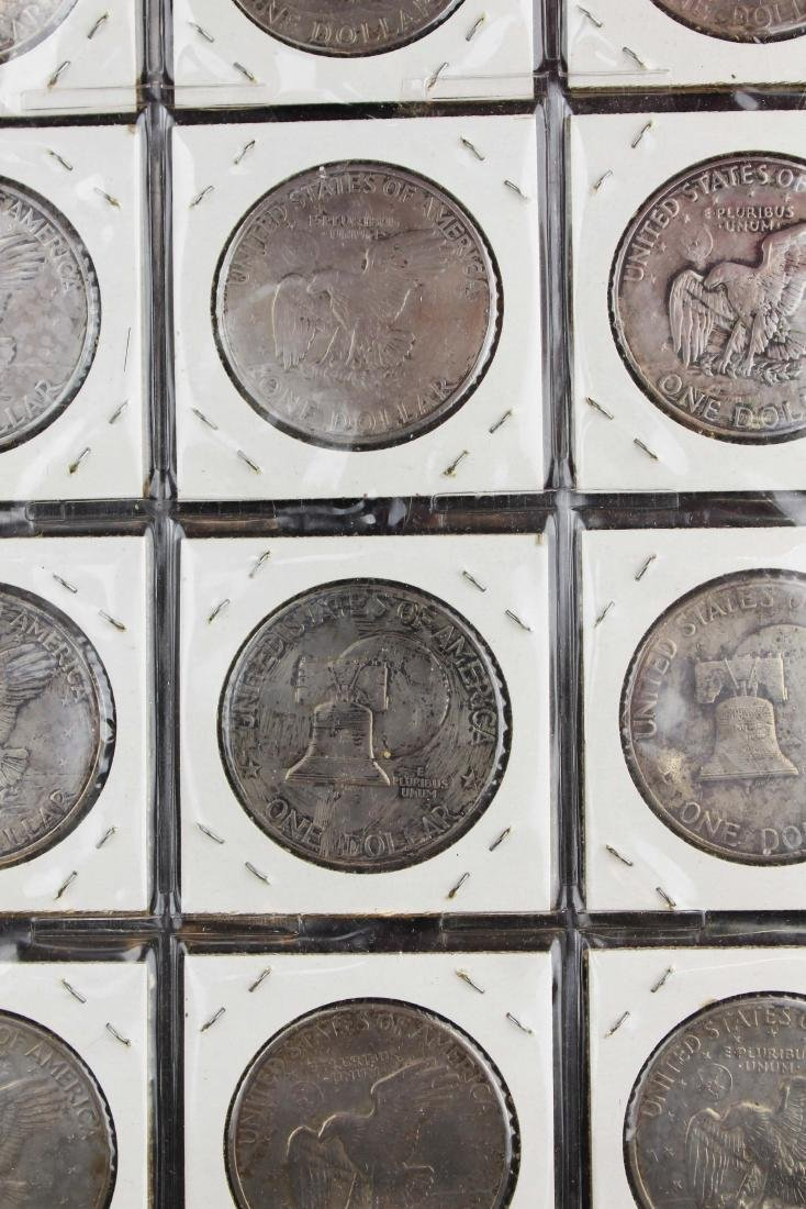 371 US Eisenhower $1 coins - 2
