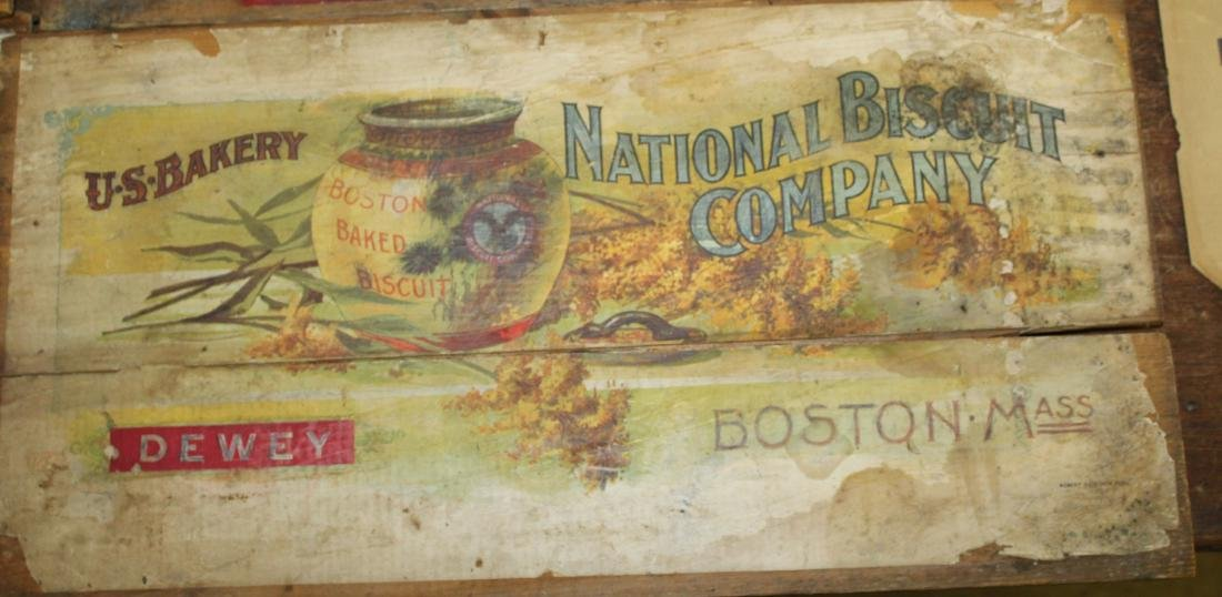 Lot of Box Sides and advertising - 3