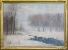 Joseph H. Greenwood (AM 1857-1927) Winter