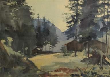 Sergius Pauser (AU 1896-1970)