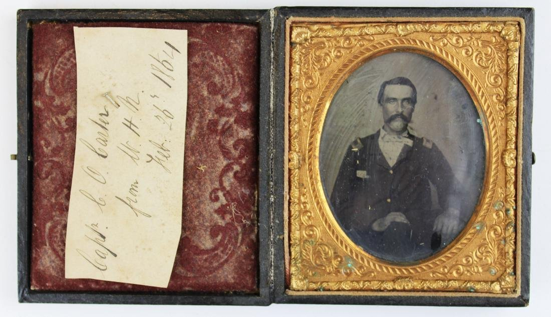 Civil War tintypes, ambrotype of Union soldiers - 2