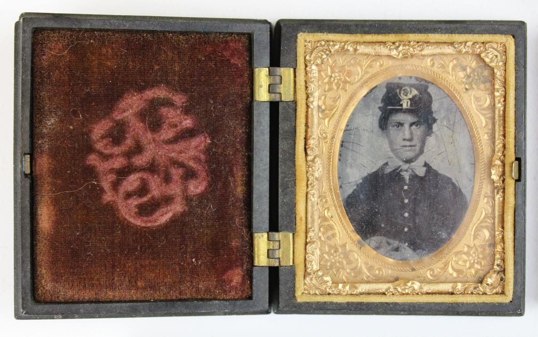 Civil War tintypes, ambrotype of Union soldiers - 3