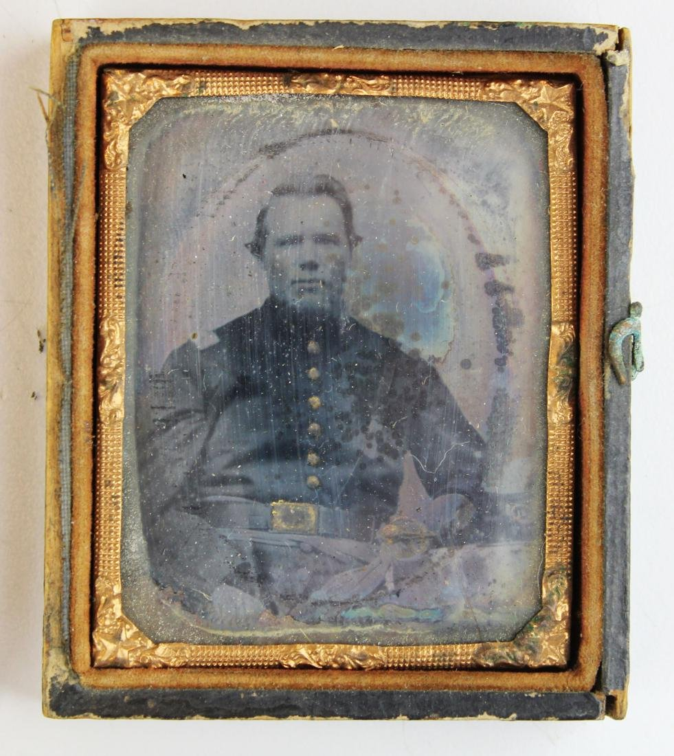 Civil War tintypes, ambrotype of Union soldiers - 4