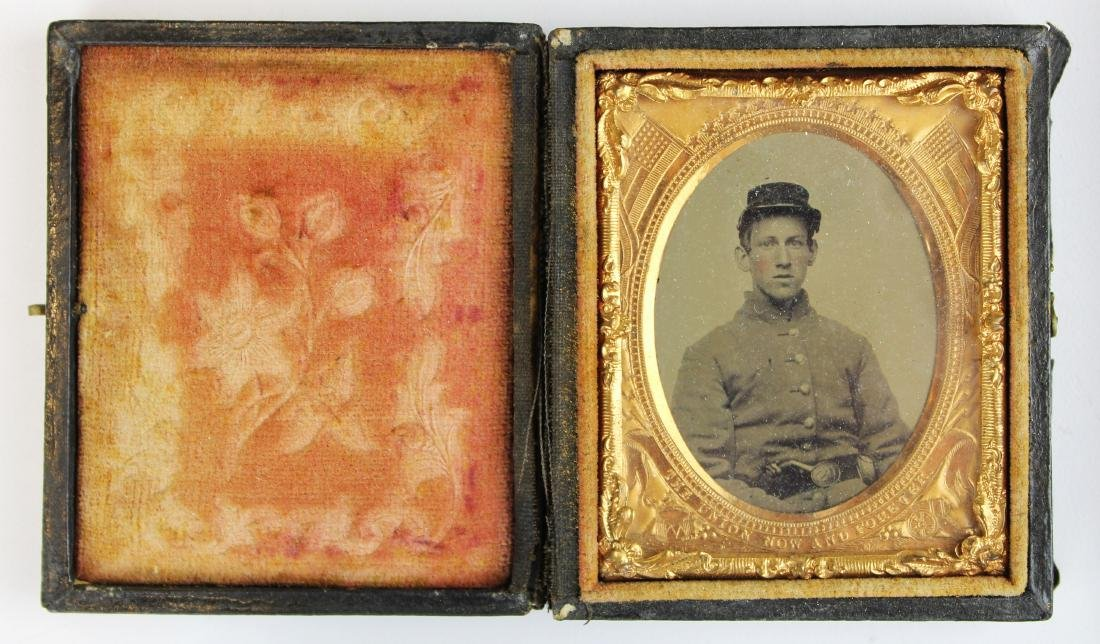 Civil War tintypes, ambrotype of Union soldiers - 6