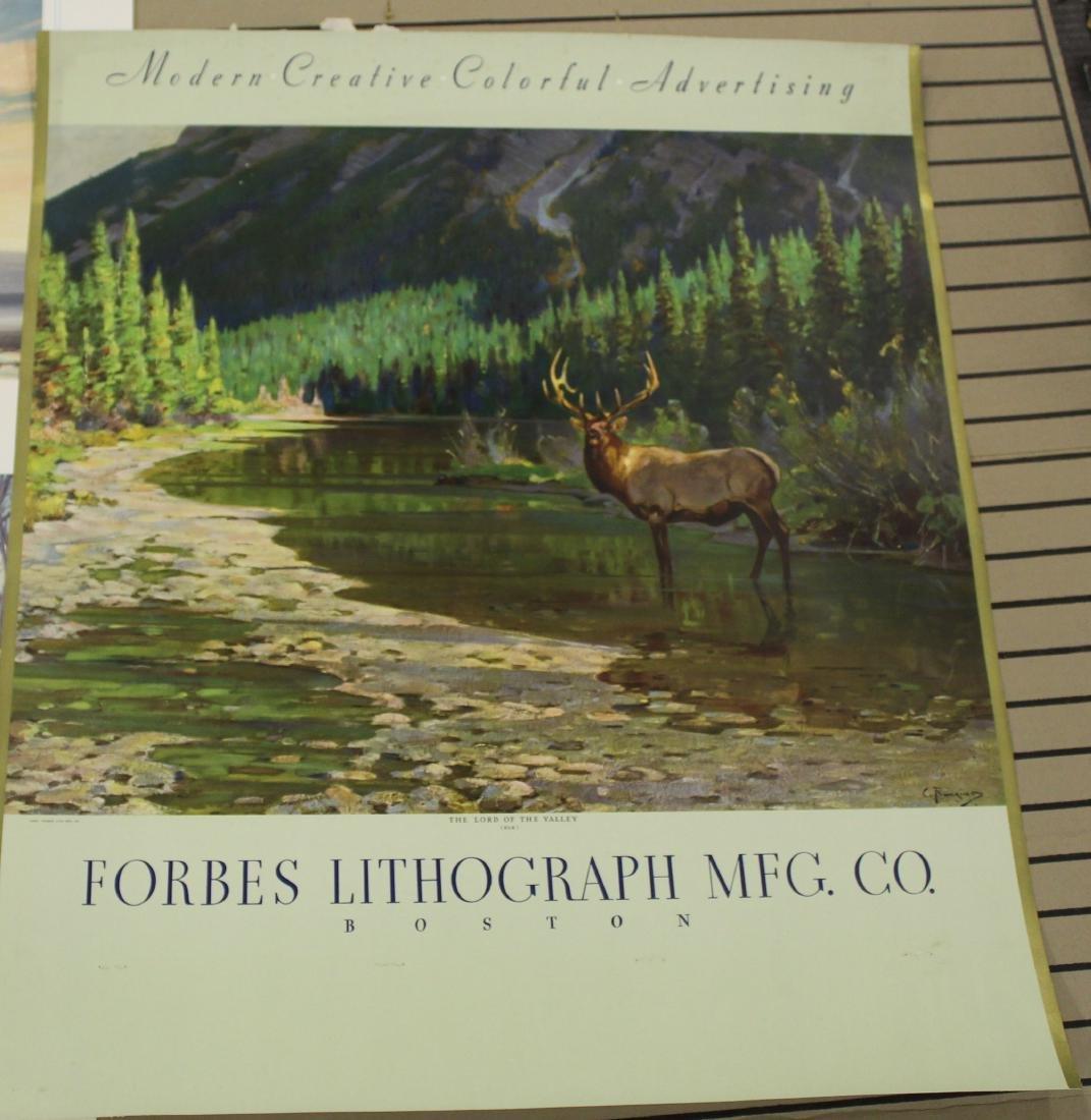 Three Forbes Litho sporting prints - 2