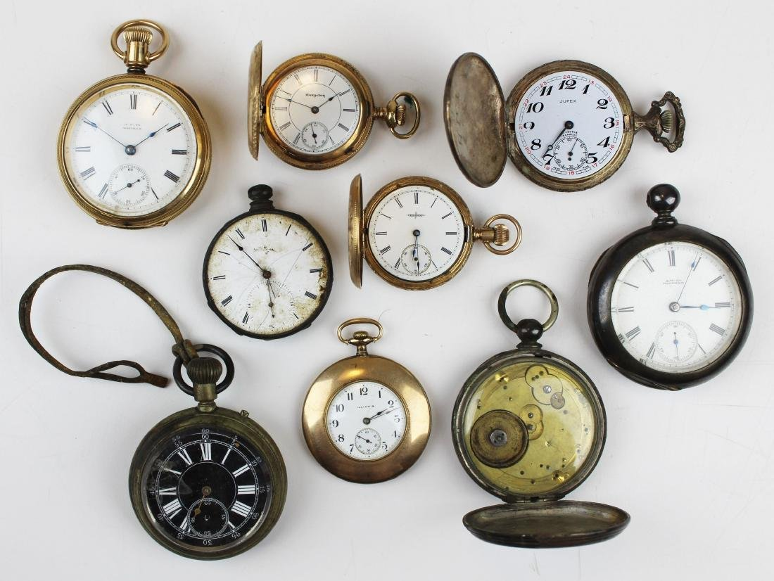 late 19th- early 20th c pocket watches