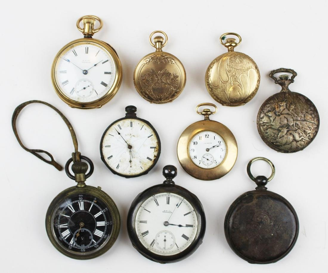 late 19th- early 20th c pocket watches - 2