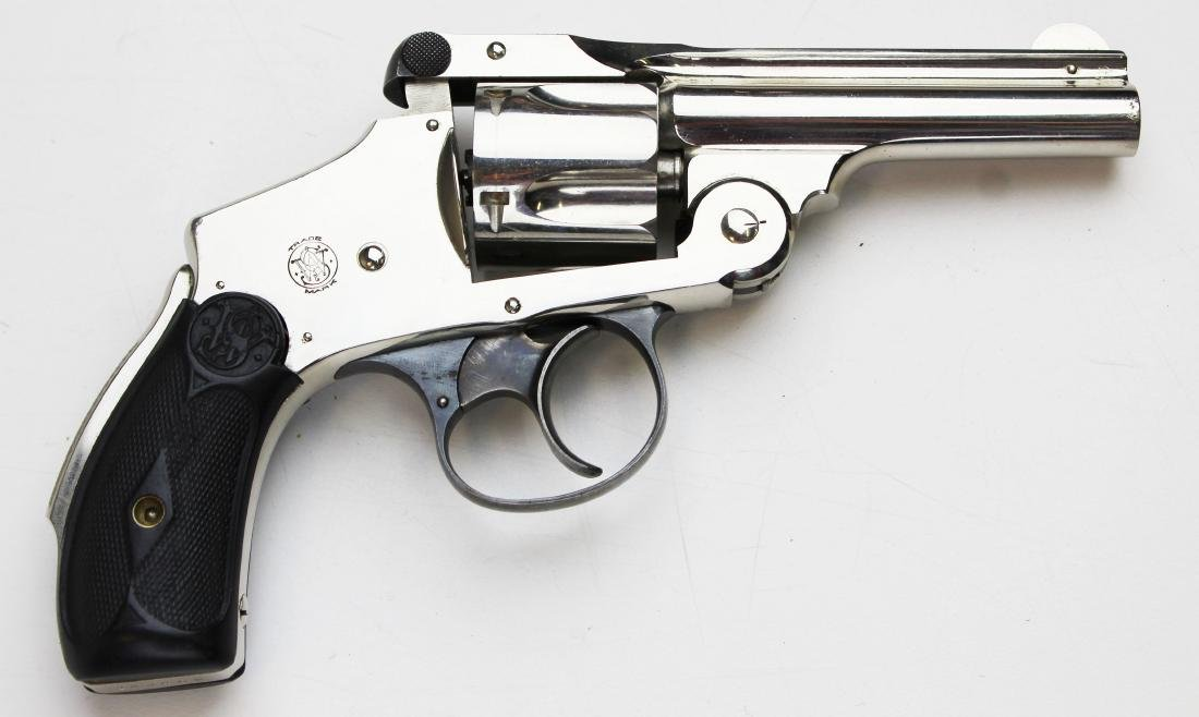 Smith and Wesson 38 Safety DA revolver