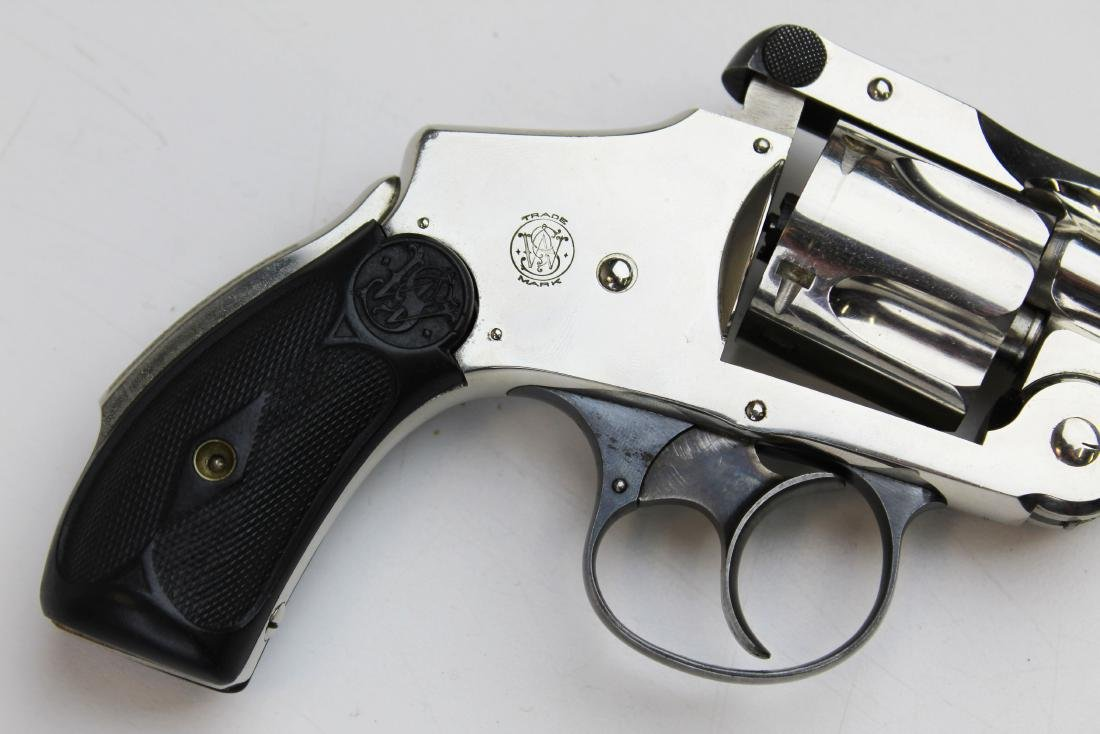 Smith and Wesson 38 Safety DA revolver - 2