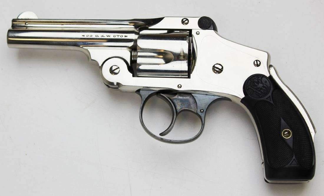 Smith and Wesson 38 Safety DA revolver - 3