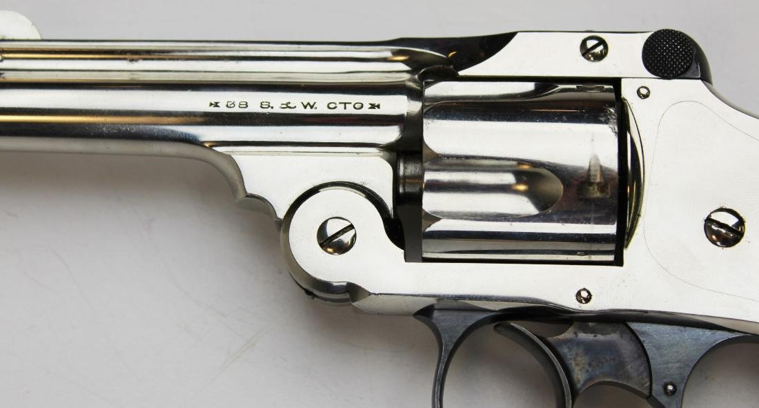 Smith and Wesson 38 Safety DA revolver - 4
