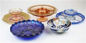 Elegant Depression Era and Carnival glassware