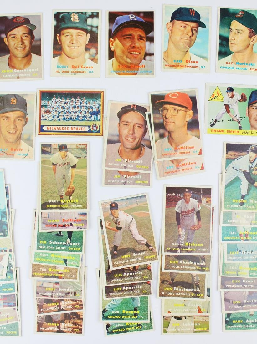 A group of 67 Topps baseball cards. - 3