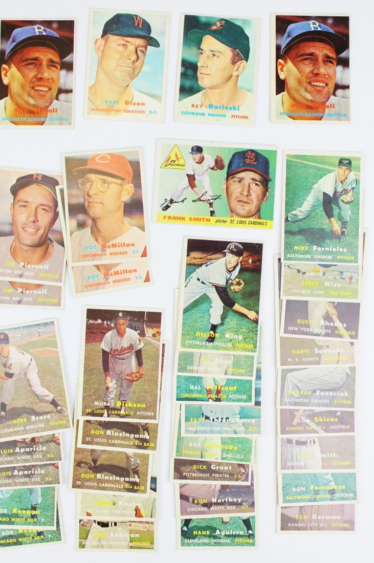 A group of 67 Topps baseball cards. - 4
