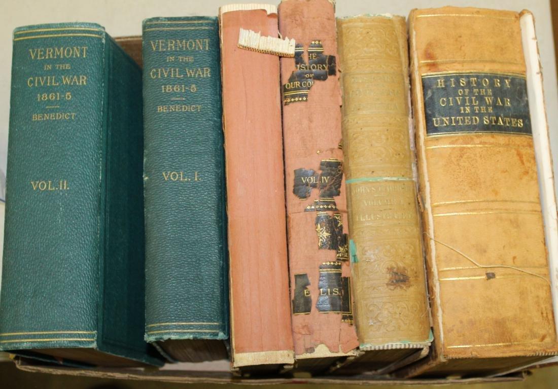 Five Volumes on Civil War Topics