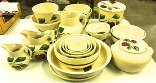 19 pcs Watt apple pattern cook  dinnerware