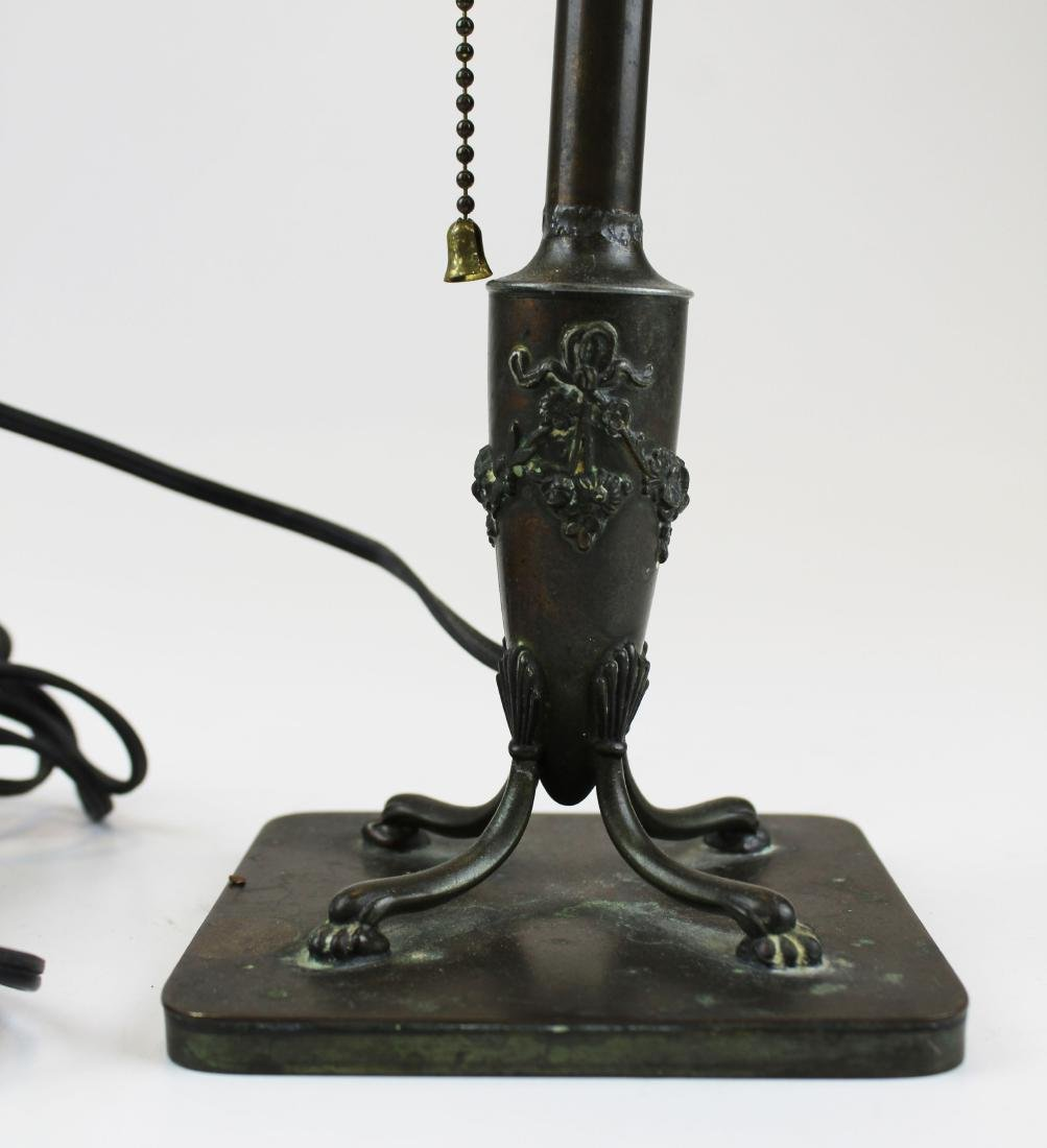 signed Pairpoint boudoir lamp base - 2