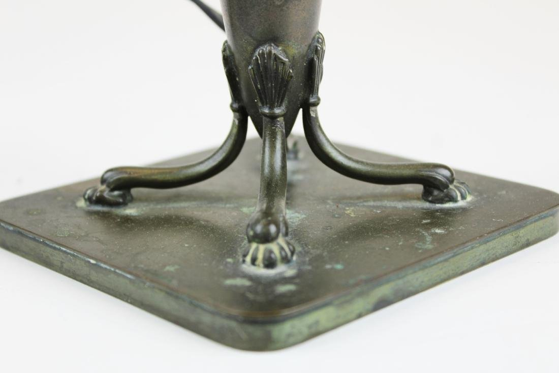 signed Pairpoint boudoir lamp base - 5