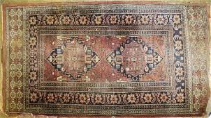 early mid 20th c Persian area rug