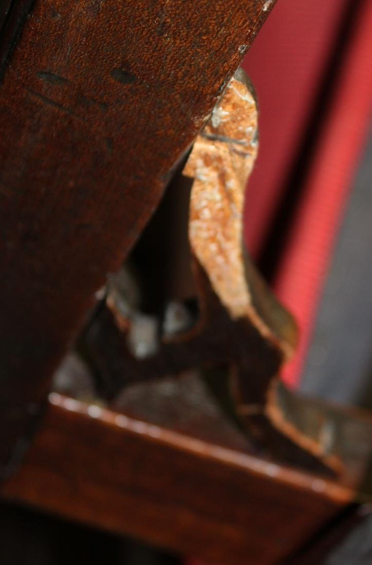 6 18th c. English Chippendale mahogany chairs - 6