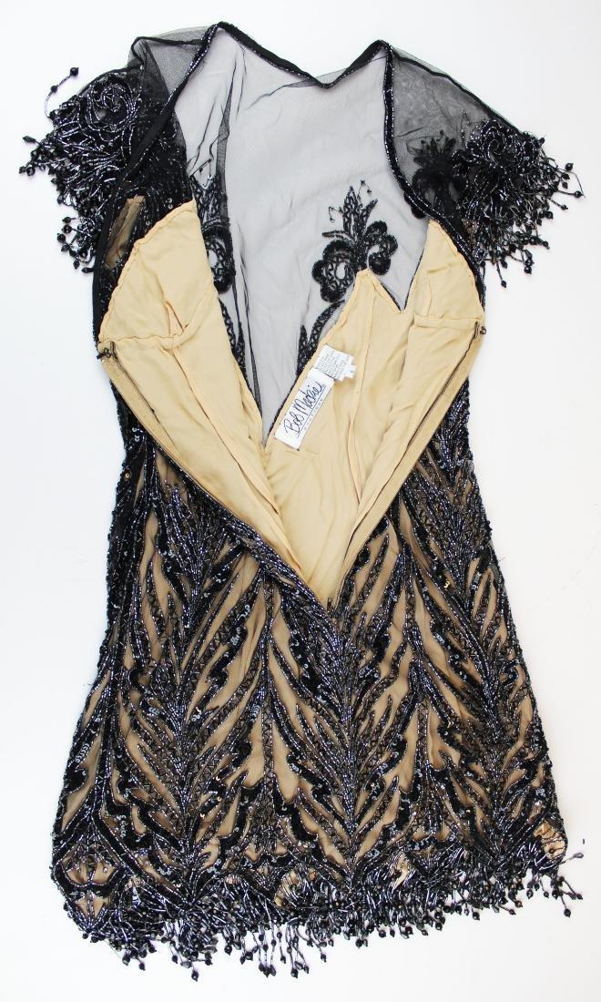 Bob Mackie Boutique beaded silk cocktail dress - 6