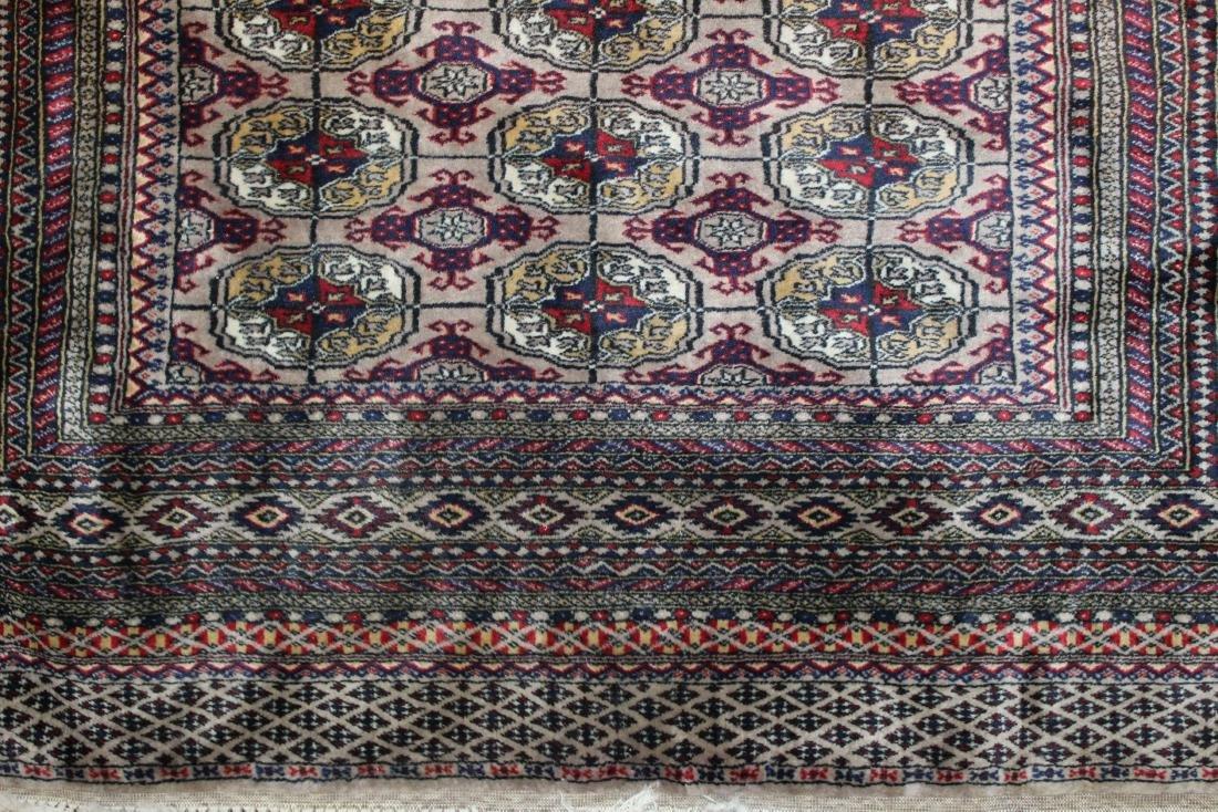late 20th c Pakistan Bokhara design area rug - 2