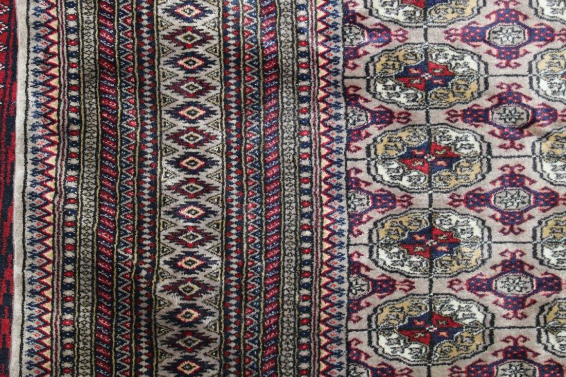 late 20th c Pakistan Bokhara design area rug - 3