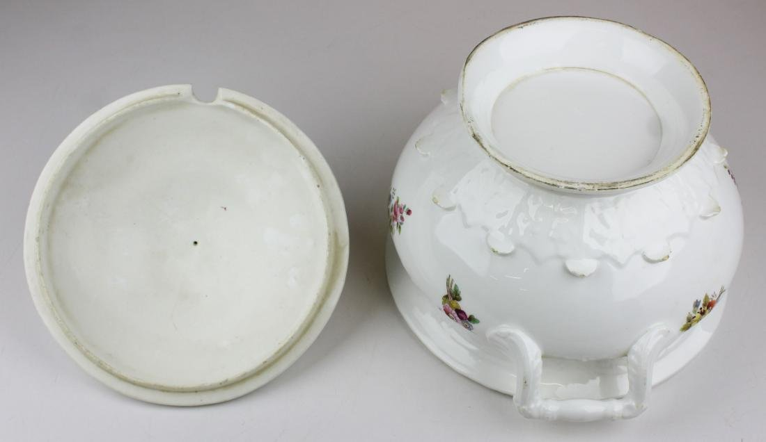 English Swansea porcelain tureen and platter - 9