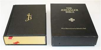 The Jerusalem Bible illus by Salvador Dali
