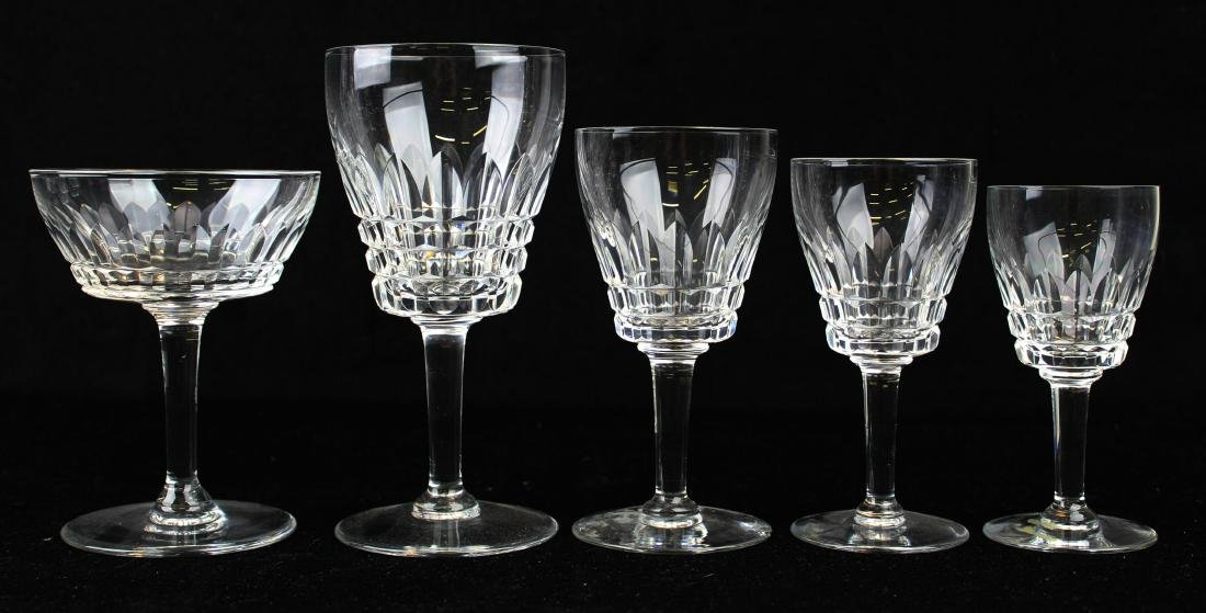 120 pcs. Waterford Lismore Diamond stemware