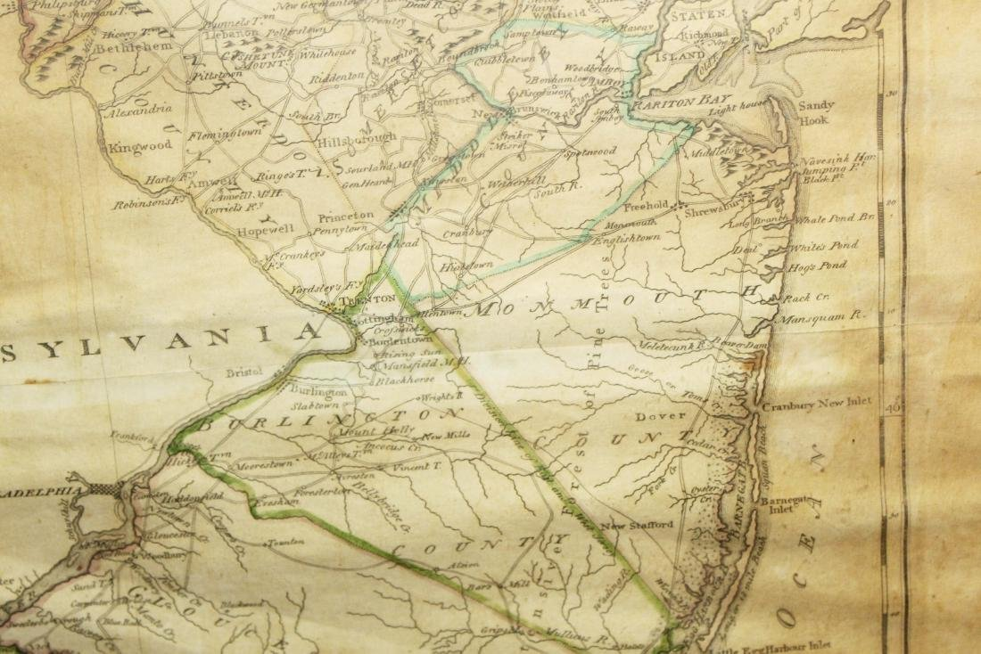 1795 map of the State of New Jersey - 4