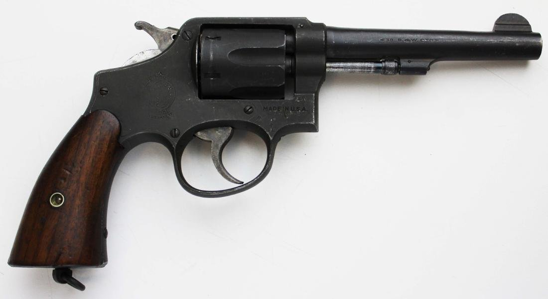 Smith and Wesson Model 10 US Military pistol