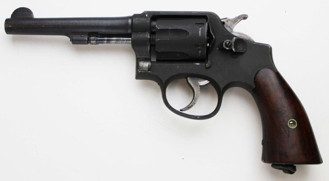 Smith and Wesson Model 10 US Military pistol - 3
