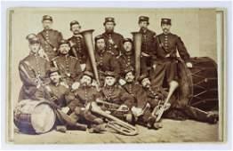 Civil War era band with  saxhorns & drums