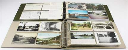 VT covered bridge postcards incl real photo