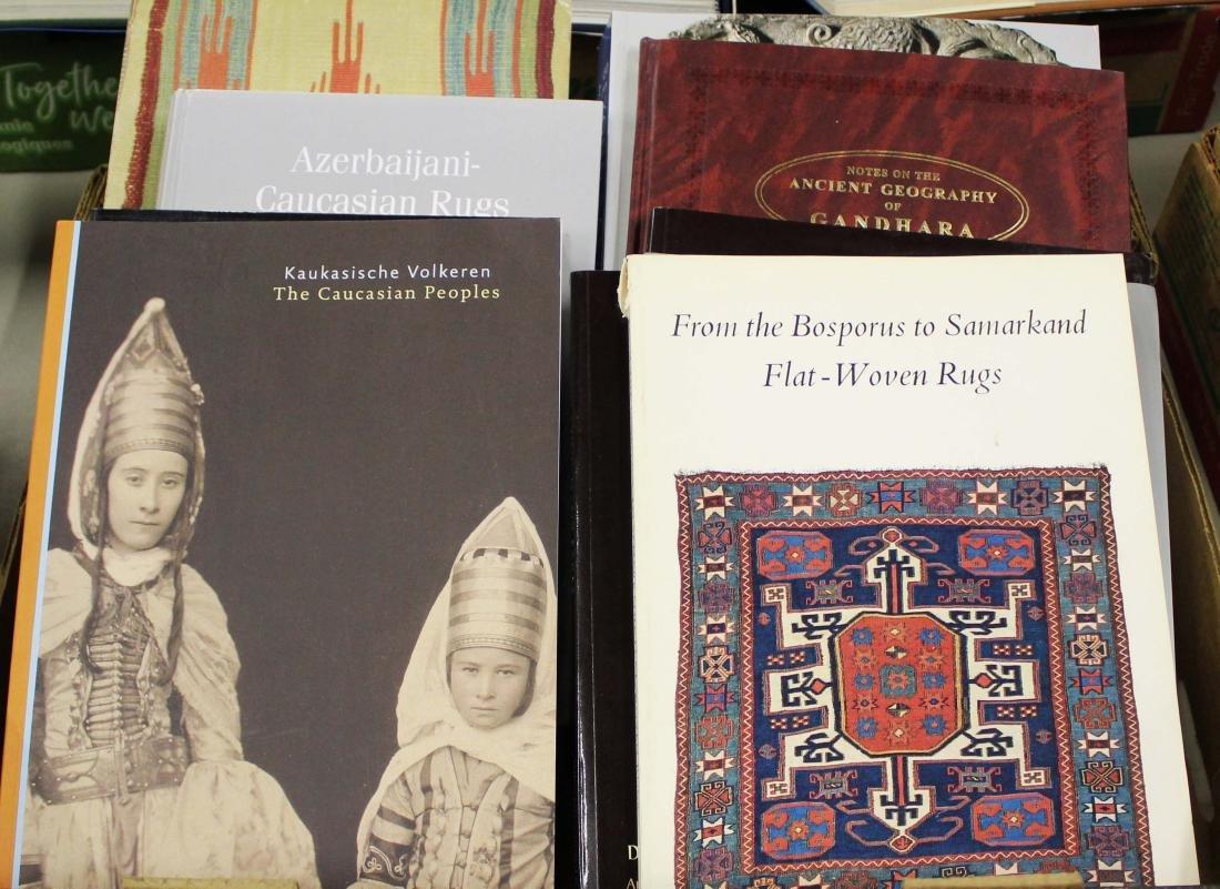 Oriental rugs, Gandhara reference books
