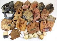 15 vintage baseball gloves