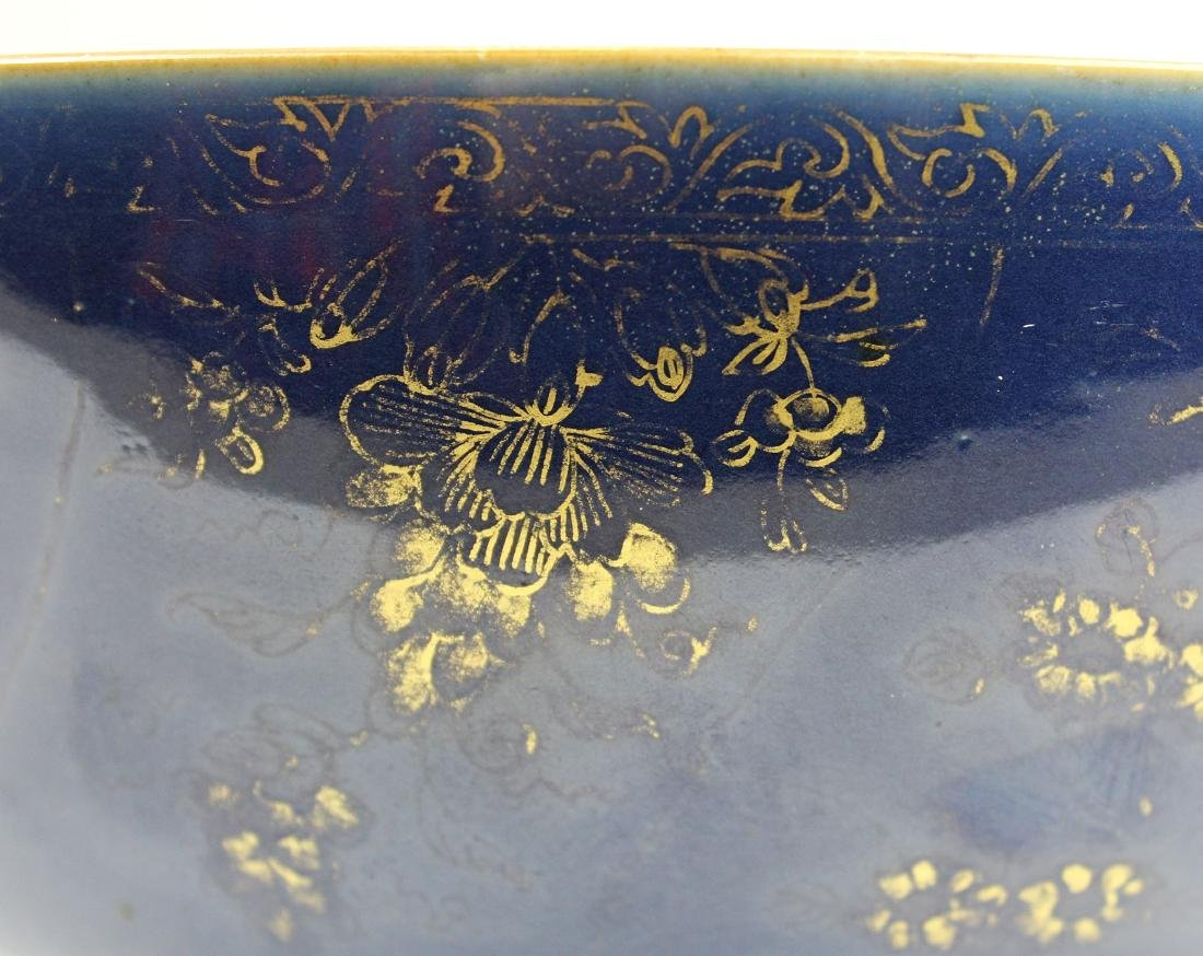 late 19th c Chinese export punch bowl - 4