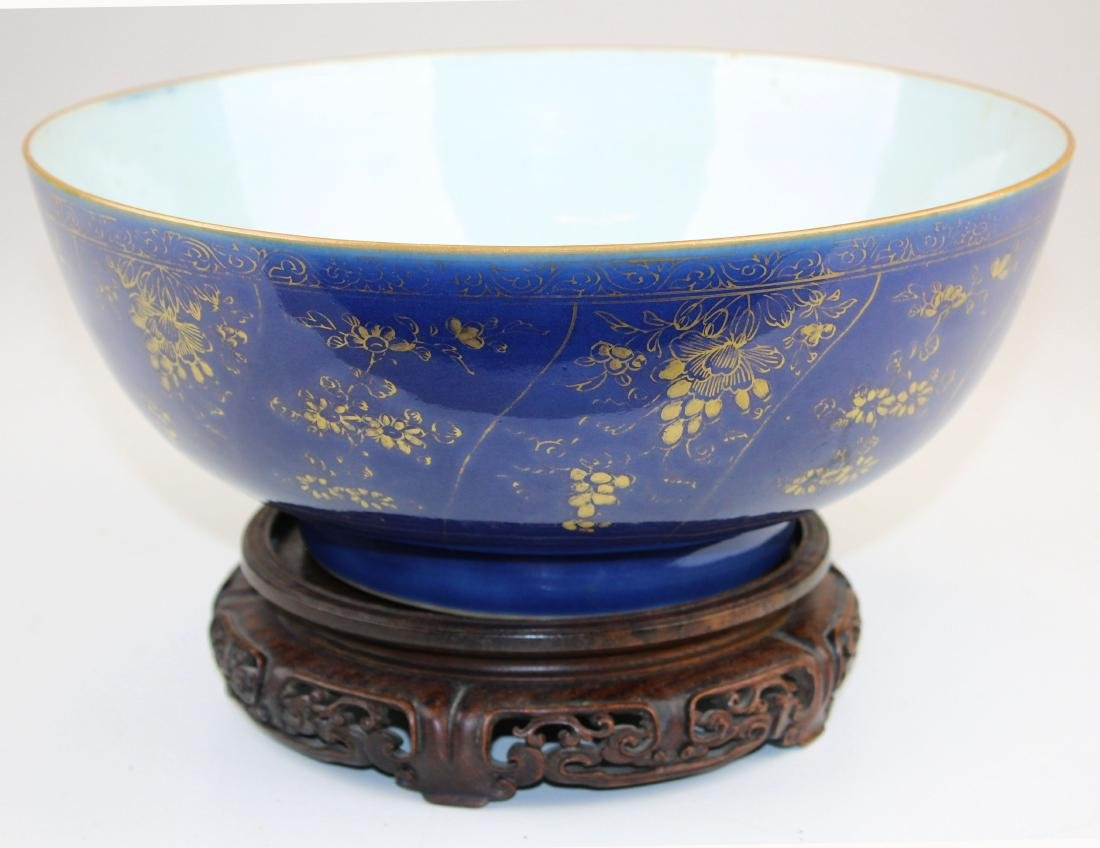 late 19th c Chinese export punch bowl - 6