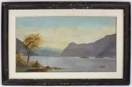 4 19th Hudson River school landscapes