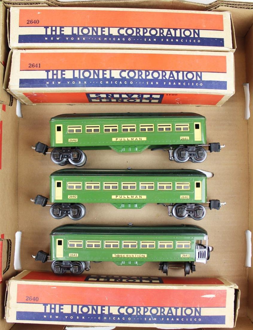 Lionel Pre-War 2640's, 2641 in green
