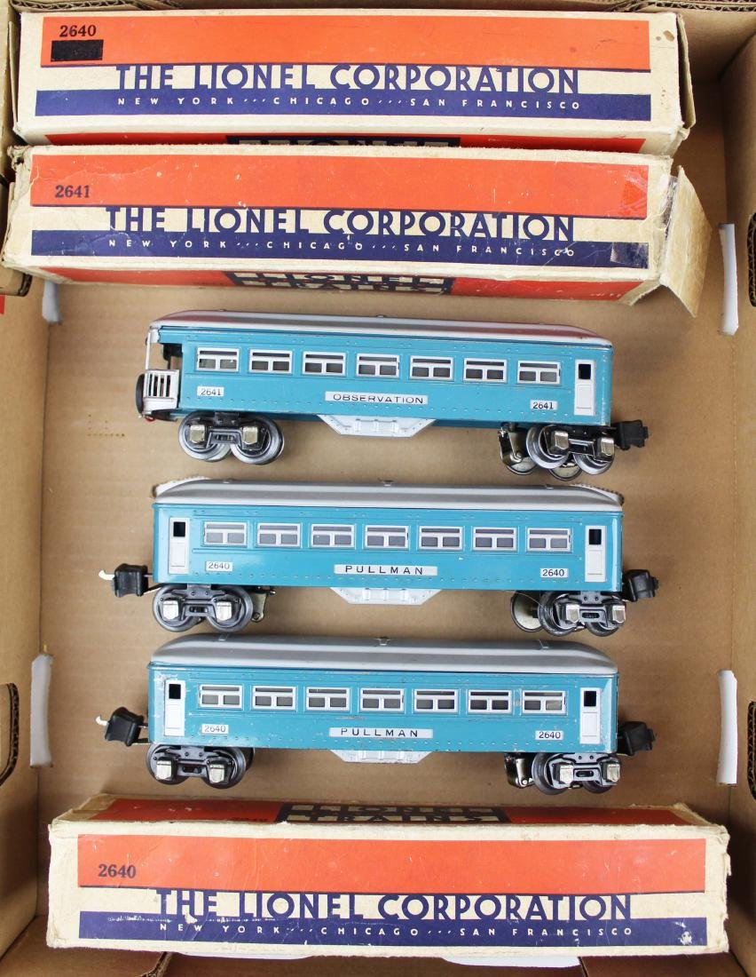 Lionel Pre-War 2640's, 2641 in blue