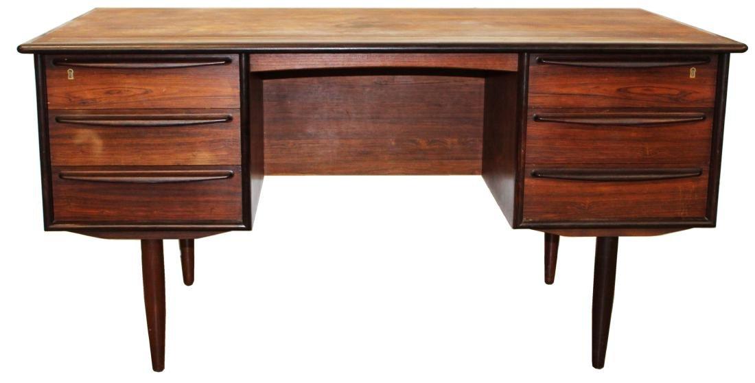 Falster Denmark rosewood desk