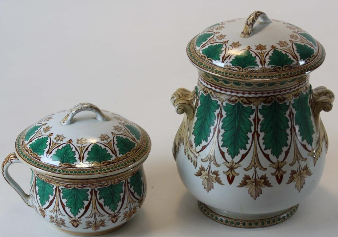Powell & Bishop slop jar and chamber pot