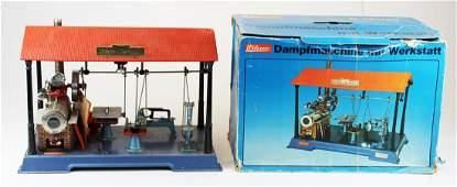 Wilesco model steam engine & workstation